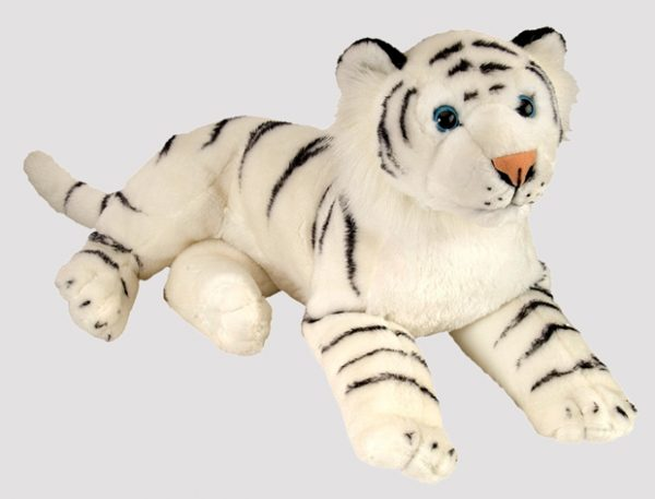 40 cm 60083-HVIT-TIGER