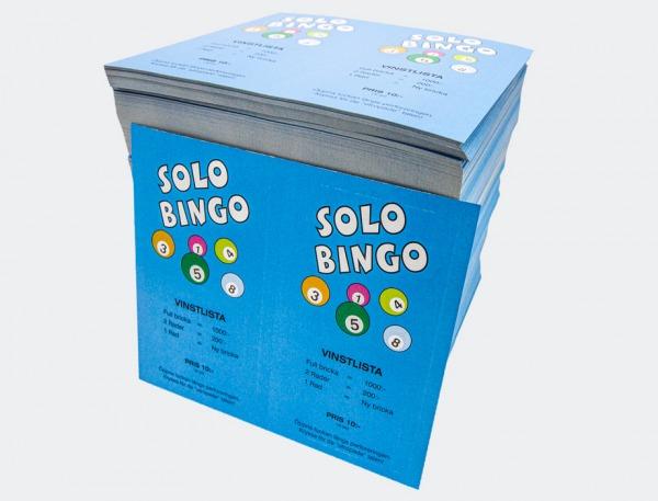 1 pakke Solobingo